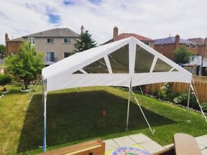 Tents, tables, chairs and more for rent