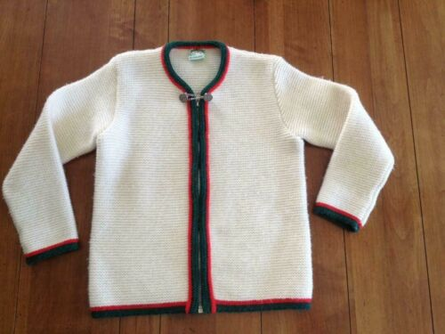 St. Peter Trachten kids wool sweater German Austrian size youth  S/M