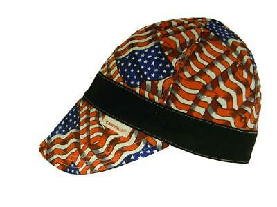 Pipe And Hat (NWT BANDED Comeaux Cap Welding Welder Hat Pipe Fit Reversible Stars and)