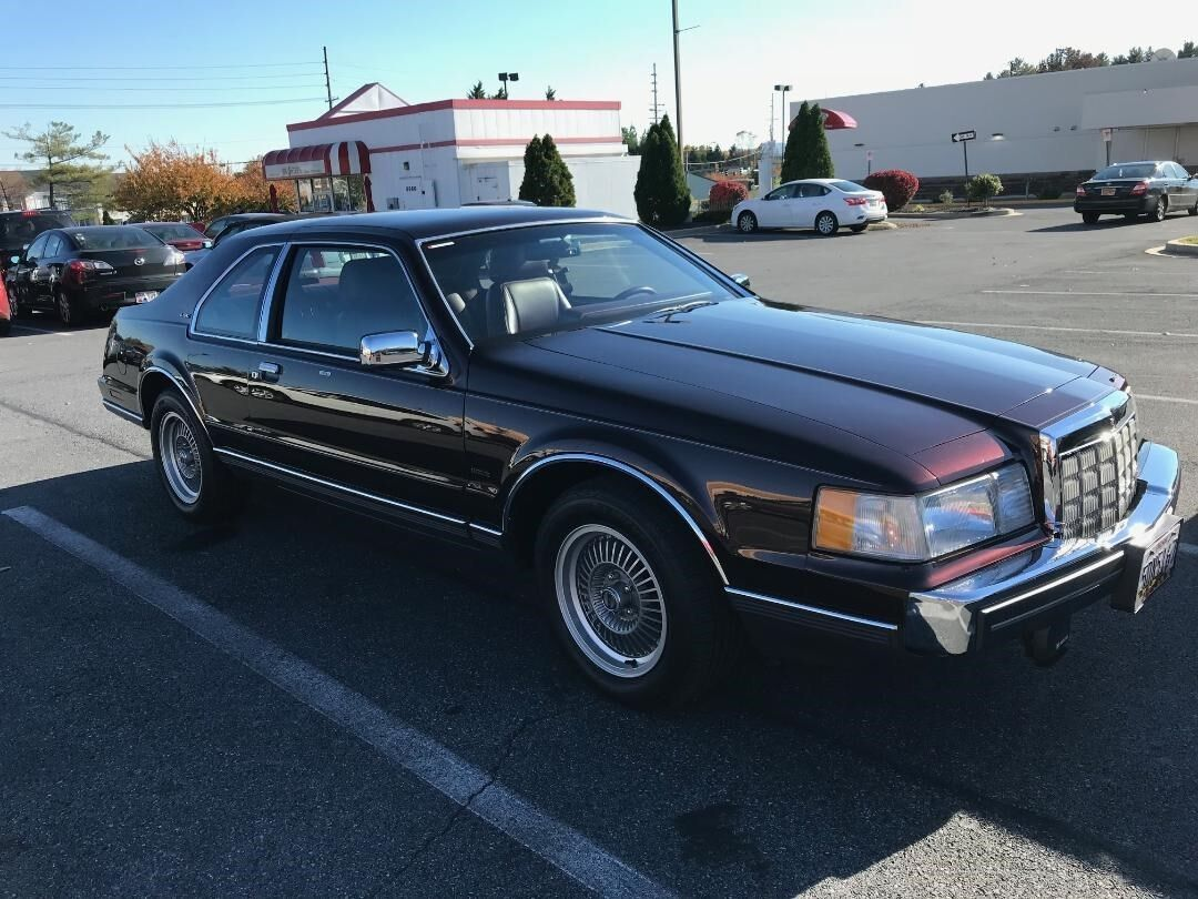 1988 Lincoln Mark Series LSC 1988 Lincoln Mark VIII LSC, All Original-2900 miles-Mint-Showroom Condition