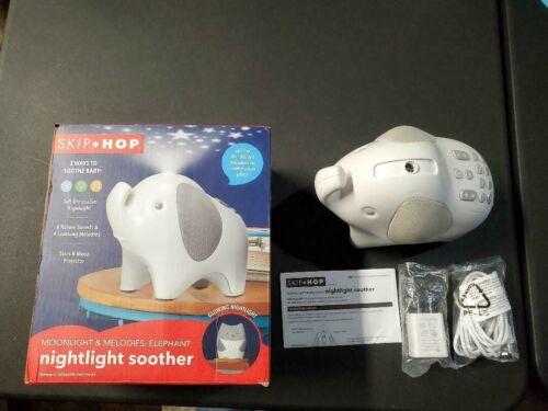Skip Hop Moonlight & Melodies Nightlight Baby Sleep Soother elephant