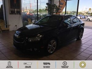 2013 Chevrolet Cruze LT Turbo BACKUP CAM! BT! LEATHER! HEATED...