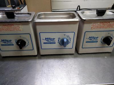Lot Of 3 Hilco Pro Junior Heated Ultrasonic Cleaner Vl1 Wt