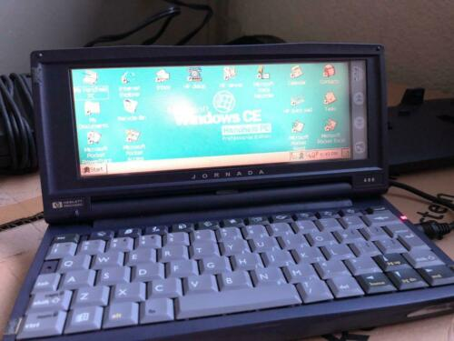 HP 680 Jornada PDA - Excellent Condition with Stylus and Great Battery