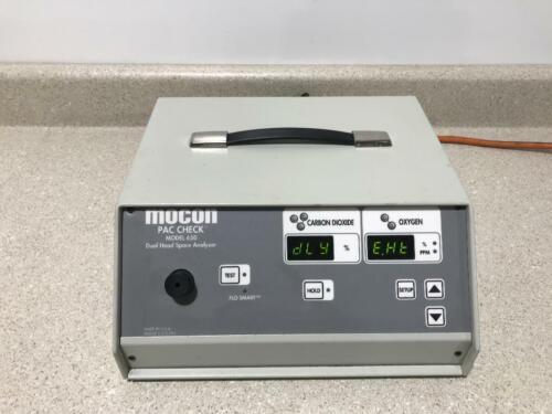 Mocon Dual Head Space Analyzer Pac Check 650
