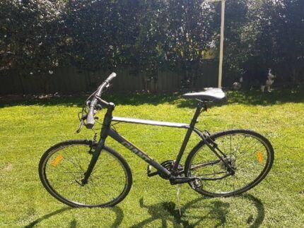 Giant push bike