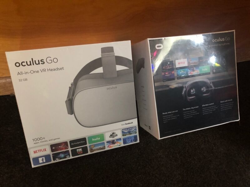 Oculus Go 32GB VR Headset - Brand new, wrapped and sealed