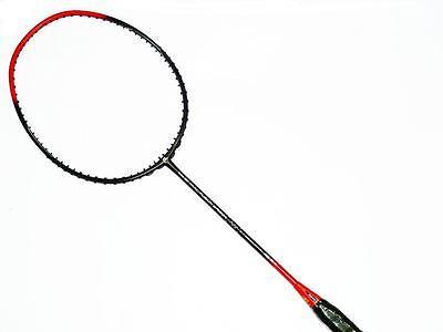 Apacs Nano Fusion Speed 722 Red Badminton Racket FREE String & Grip