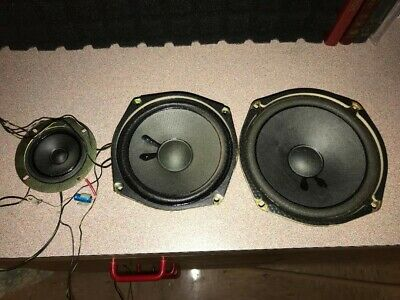 Williams WPC Pinball Machine back box speakers and cabinet woofer speaker