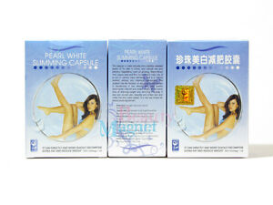 3boxes Pearl White Slimming Capsules/ Weight loss pills