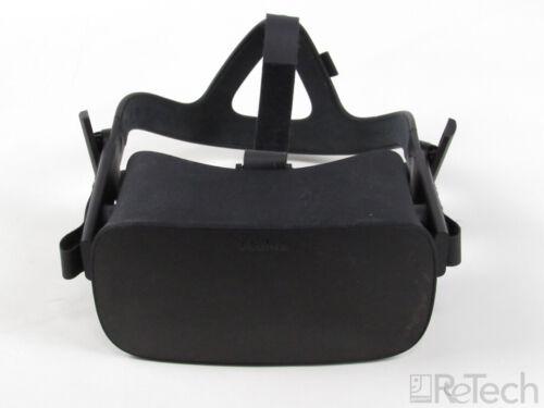 Oculus Rift CV1 Headset Virtual Reality VR Headset & Earphones Only TESTED