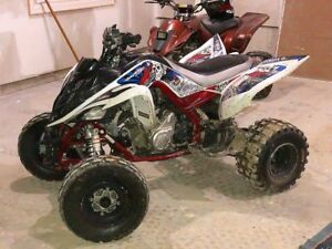 Yamaha Raptor 700R. Cleanest quad out there