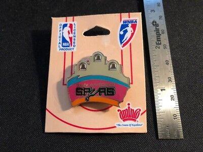 NEW San Antonio Spurs / The Alamo Pin - NBA Licensed - Butterfly Pin Back - Nba San Antonio Spurs