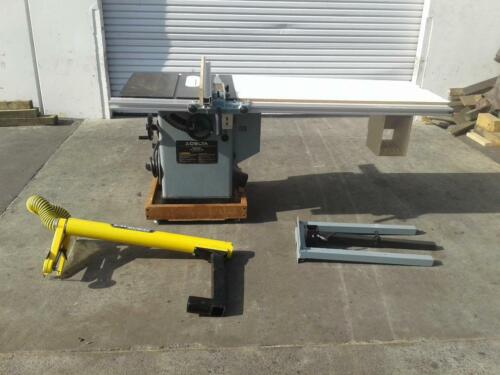 Delta 34-806 Unisaw 5 HP,  w/Excalibur Over Arm DC (Woodworking Machinery)