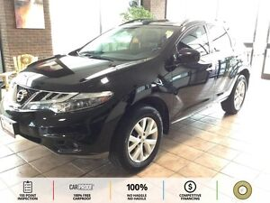 2013 Nissan Murano SL LEATHER! HTD STEERING N SEATS! ROOF!