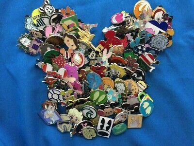 75 Disney World WDW Random Trading Pin Lot NO DUPLICATES Fast Free Shipping!