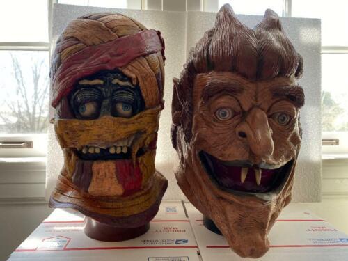 Rare General Mills Monster Display Count Chocula & Yummy Mummy