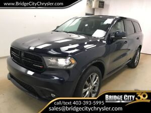 2017 Dodge Durango GT AWD- Leather, Heated Seats, Remote Start!