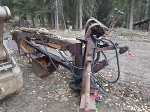 Three point backhoe attachment
