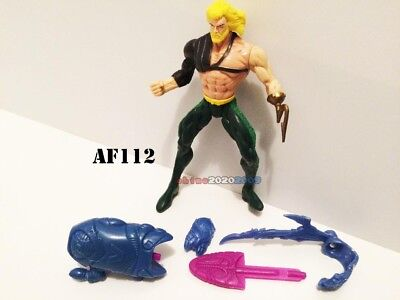 Aquaman Kenner action Figure 1996 Total Justice FAST SHIP!! w/ Accessories - Aquaman Accessories