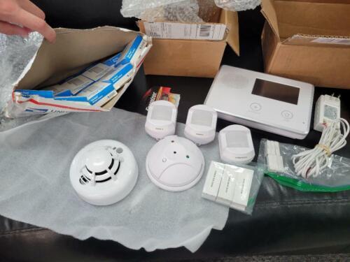 2GIG Home Security System Motion Door Window Smoke Glass Break Sensors . Verizon