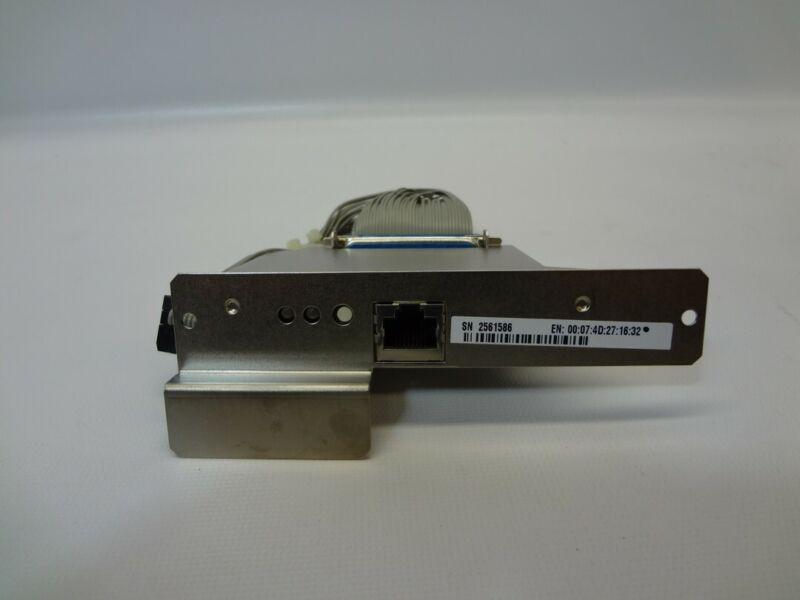 Zebra Ethernet Interface Card 47560 REV-6 for 140XiIII Thermal Label Printer OEM