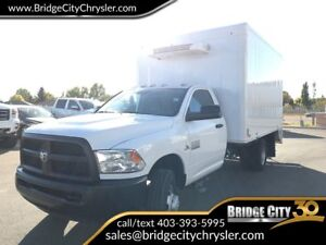 2014 Ram 3500 ST Cube Van With Refrigeration/Freezer Unit!