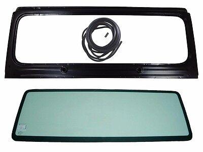 New Windshield Frame  Glass w3 Pcs Seal Kit For Jeep Wrangler YJ 1987 1995
