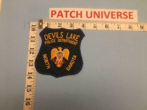 VINTAGE DEVILS LAKE ND POLICE  SHOULDER PATCH     A067