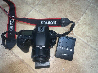 Canon EOS 60D with Canon EF 50mm f1.8 STM Lens and filter