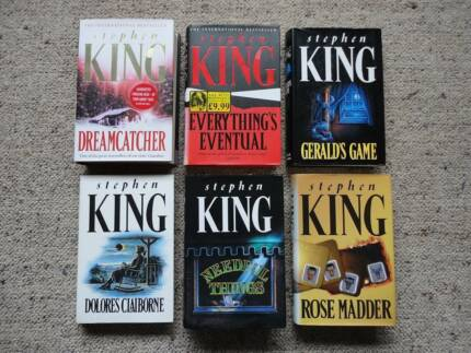 Stephen King UK First Edition Bulk Lot Hard Cover / Dust Jacket Norah Head Wyong Area Preview