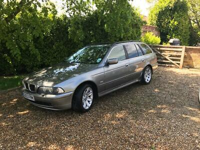 BMW 530I SE Touring Petrol Automatic, Grey, Mileage 126K for Spares or Repair