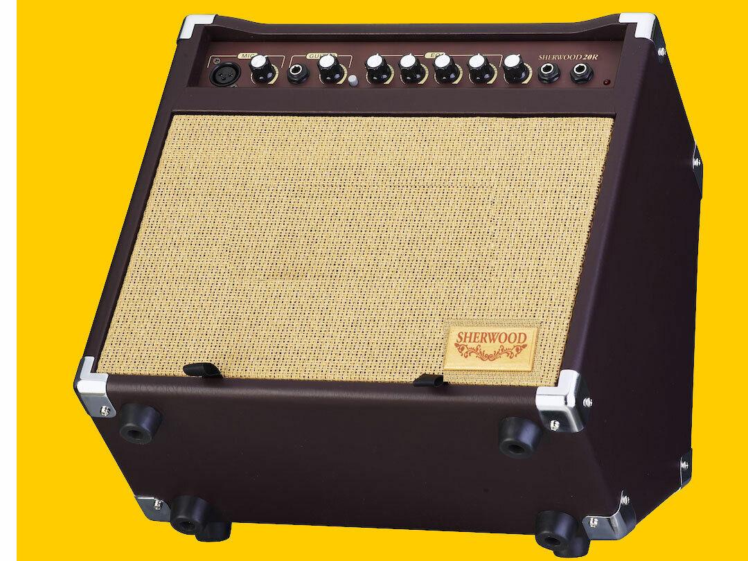 Carlsbro Sherwood 20R Acoustic Combo / Akustik Verstärker Neu-OVP !