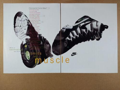 1994 Nike Air Trainer Max 2 Shoes vintage print Ad