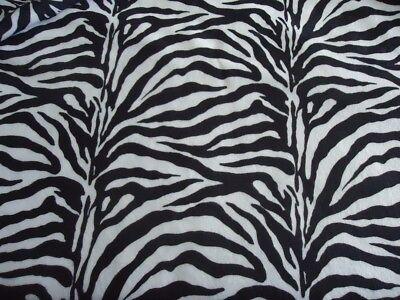 ZEBRA Fabric  2 Yards + 8