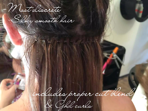 Extension  Maintenance Micro/BeadedWeft/Tape from $70 Surfers Paradise Gold Coast City Preview