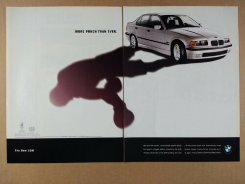 1996 BMW E36 328i Sedan photo vintage print Ad