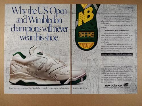 1993 New Balance CXT775 Tennis Shoes vintage print Ad