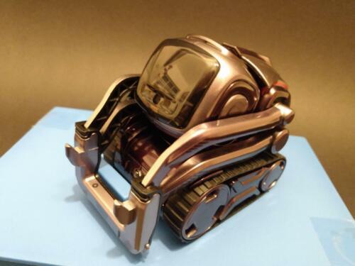 Anki Cozmo Robot Toy liquid metal. NO CHARGER, NO CUBES. BONUS TREADS/AND BOX