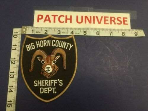 BIG HORN CO WYOMING  SHERIFF   SHOULDER PATCH  E032