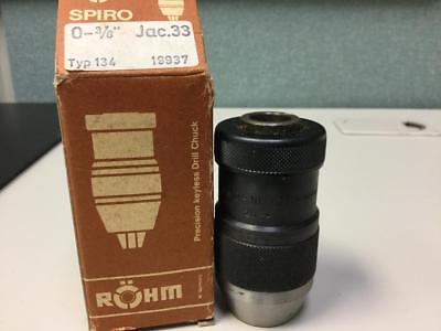 Rohm Keyless Chuck S10-t33 0.20 To 12 Inch Capacity New