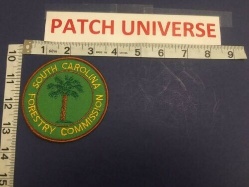 SOUTH CAROLINA  FORESTRY COMMISSION  SHOULDER PATCH   C057