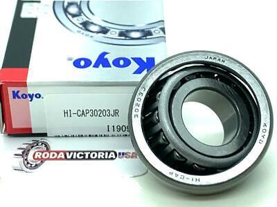 Koyo 30203 Jr Tapered Roller Bearings 17x40x13.25mm Same Day Shipping