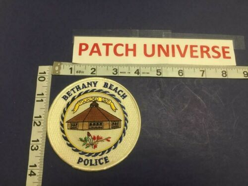 BETHANY BEACH DELAWARE  POLICE SHOULDER  PATCH   E003