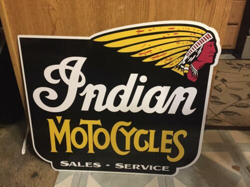 MOTORCYCLES SALES-SERVICE SIGN