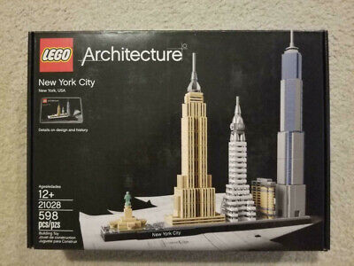LEGO Architecture | New York City | 21028 | New | Free Shipping