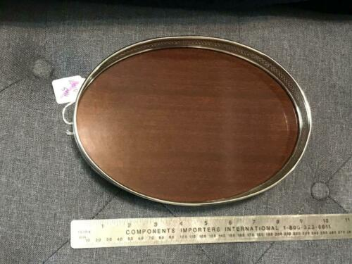 Sterling Silver and FORMICA Serving Tray