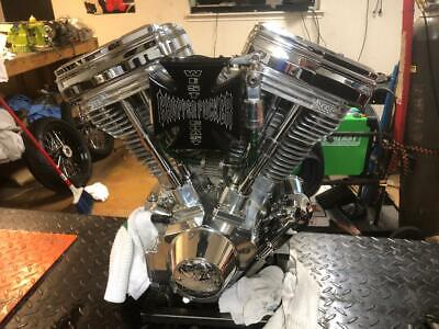 WEST COAST CHOPPERS V113 S&S CYCLE ENGINE BUILT IN LBC WITH   SHOP BUILT VIN