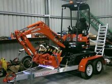 Mini excavator hire dry hire kubota Clyde Casey Area Preview