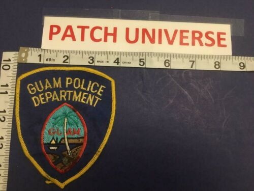VERY OLD GUAM POLICE  SHOULDER  PATCH   B108